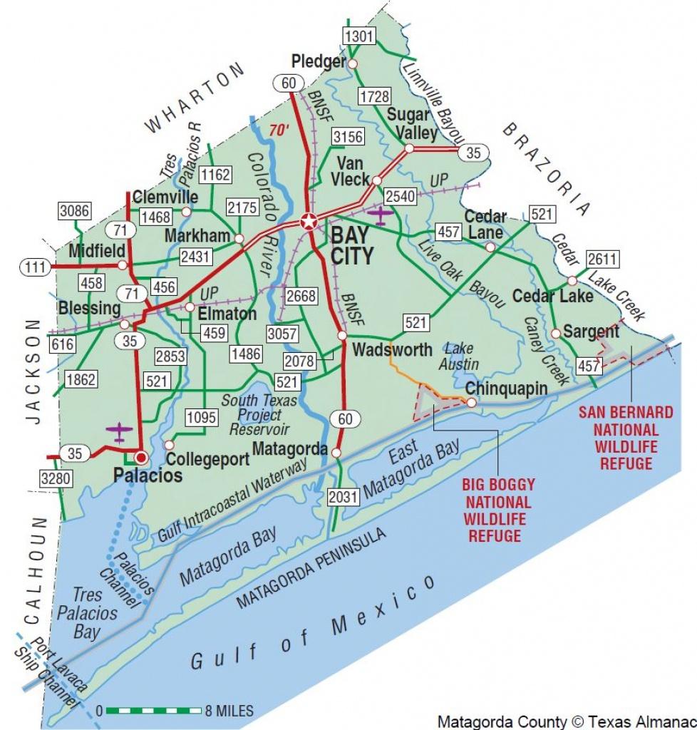 Matagorda County   The Handbook Of Texas Online  Texas State - Texas Waterways Map
