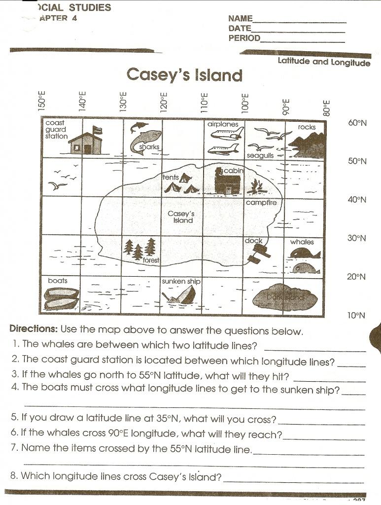 Math : Map Reading Worksheets Map Reading Worksheets High School - Printable Map Skills Worksheets