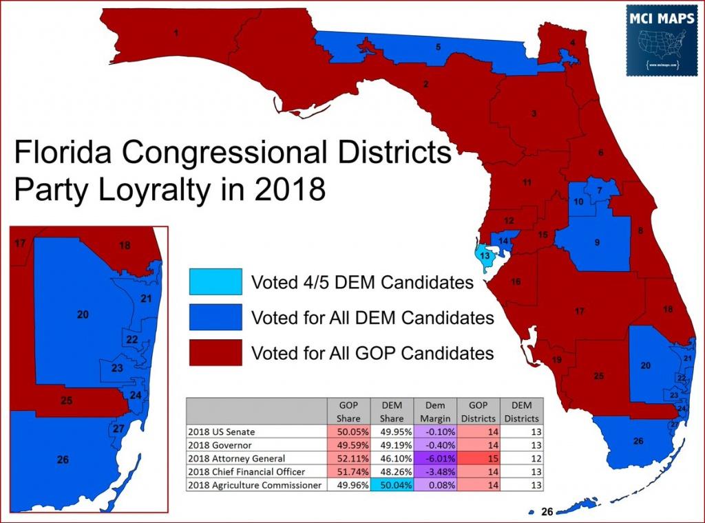 Matthew Isbell (@mcimaps) | Twitter - Florida Us House District Map