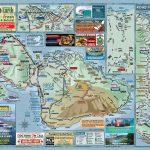 Maui Road Map | Menehune Maps   Printable Map Of Maui