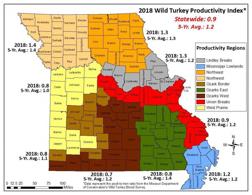 Mdc Predicts Fall Turkey Hunting Likely To Be Challenging   Missouri - Texas Parks And Wildlife Public Hunting Lands Map Booklet