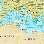 Mediterranean Sea Maps | Maps Of Mediterranean Sea   Mediterranean Map Printable