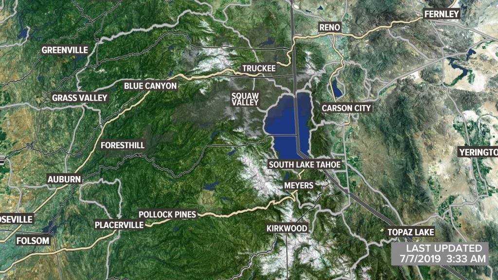 Metro Interactive Radar | Sacramento, Ca | Abc10 - Northern California Radar Map