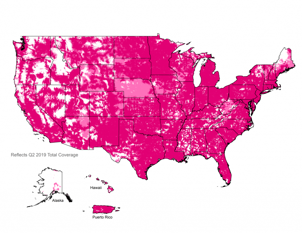Metroâ®T-Mobile Coverage Map | Nationwide 4G Lte Coverage - Metropcs Texas Coverage Map