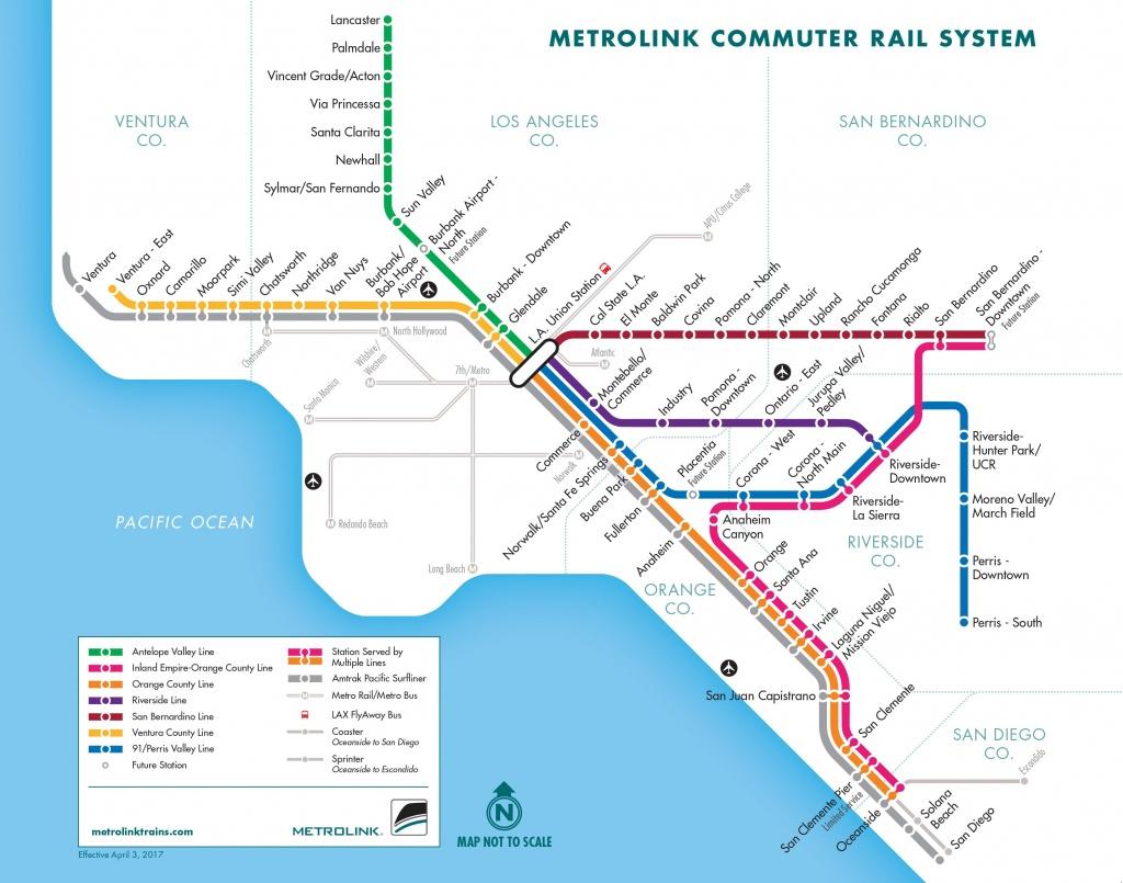 Metrolink Weekends   Metrolink - California Train Map