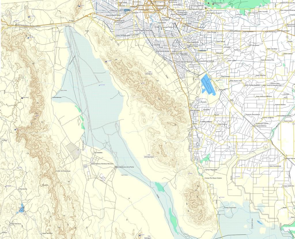 Mexico Topographic Map-E32 Ideal For Off-Road / Garmin   Adventure Rider - Baja California Topographic Maps