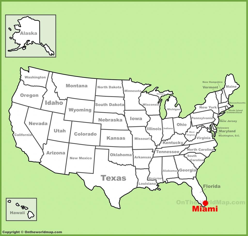 Miami Maps | Florida, U.s. | Maps Of Miami - The Map Of Miami Florida