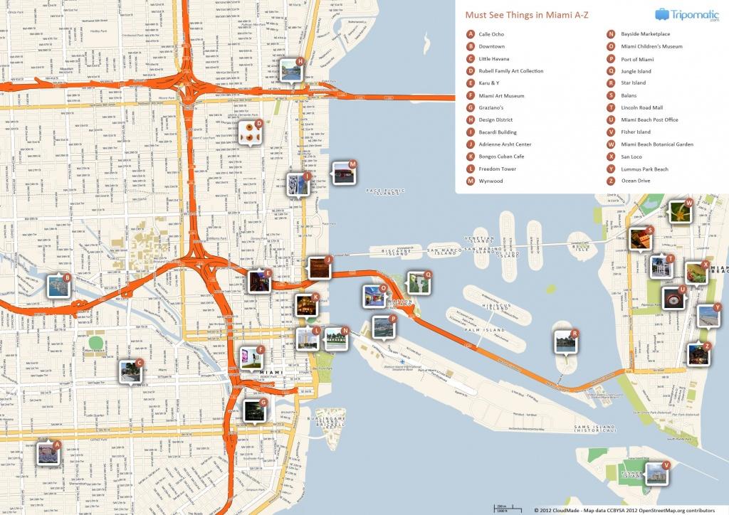 Miami Printable Tourist Map | Free Tourist Maps ✈ | Miami - Printable Street Map Of Naples Florida