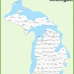 Michigan County Map   Michigan County Maps Printable