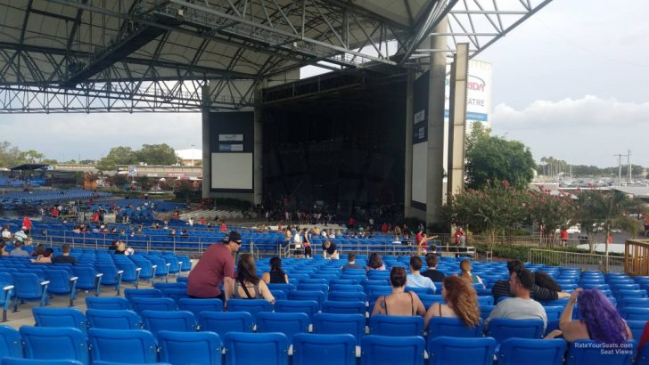 Mid Florida Credit Union Amphitheater Parking Map