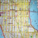 Midtown New York City Street Map Red   Street Map Of New York City Printable