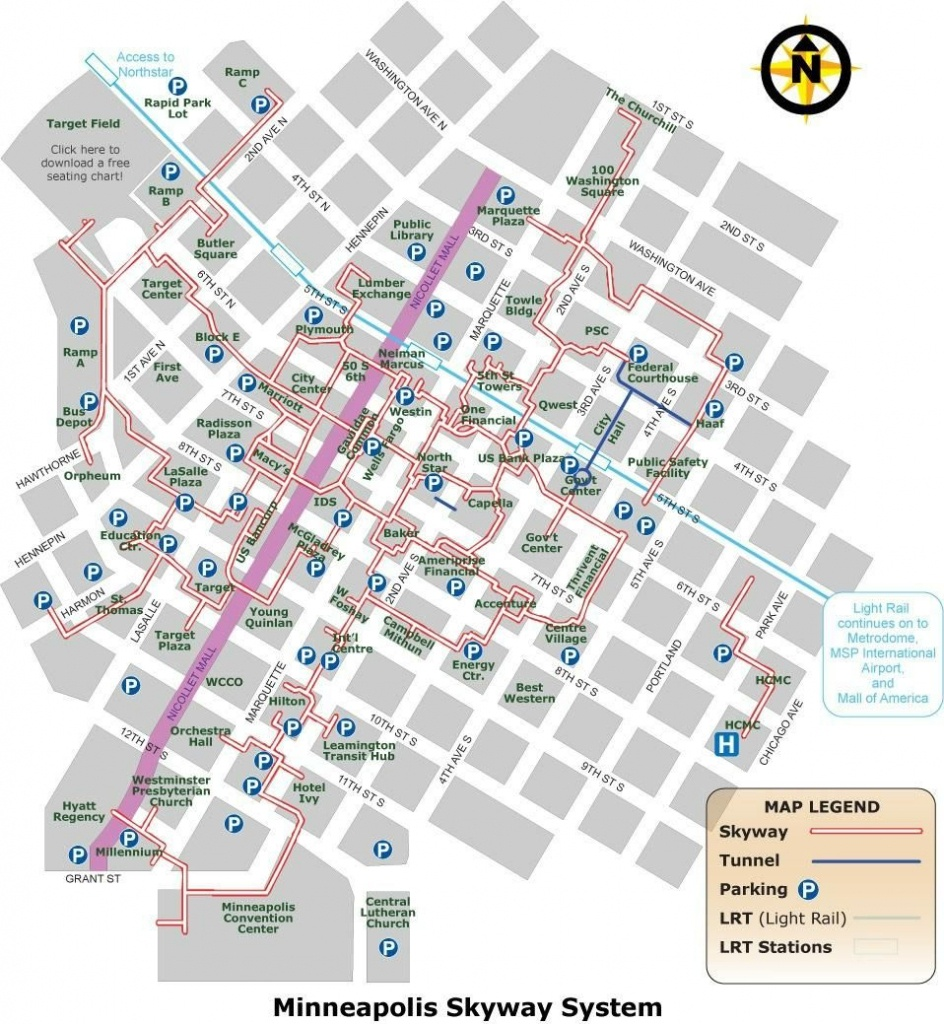 Minneapolis Skyway System - 2018 All You Need To Know Before You Go - Minneapolis Skyway Map Printable