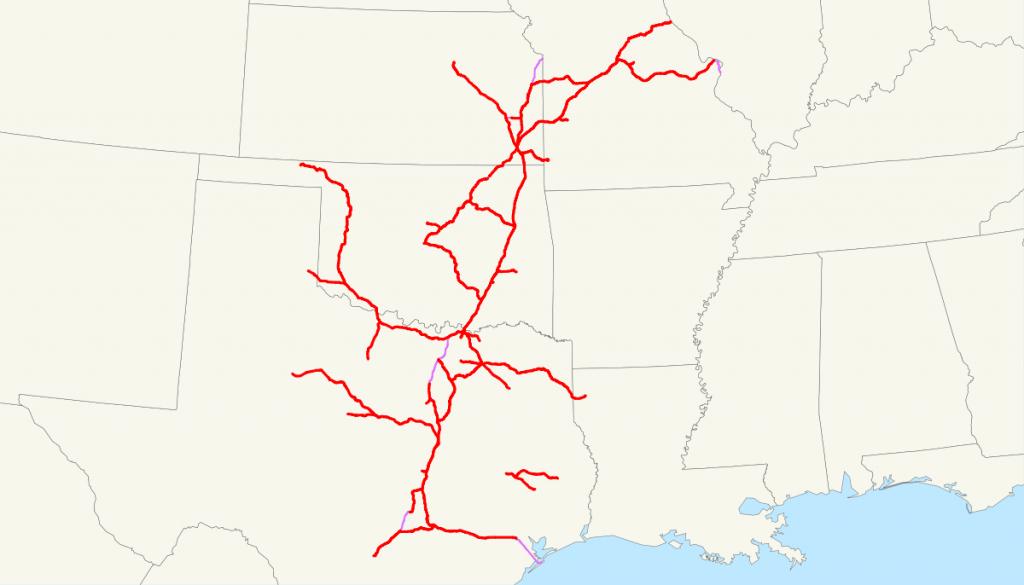Missouri–Kansas–Texas Railroad - Wikipedia - Texas State Railroad Route Map