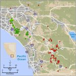 Mlf Feature: Fractured Genetics   Mountain Lions In California Map