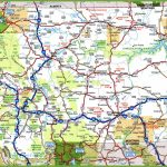 Montana Road Map   Printable Road Map Of Wyoming