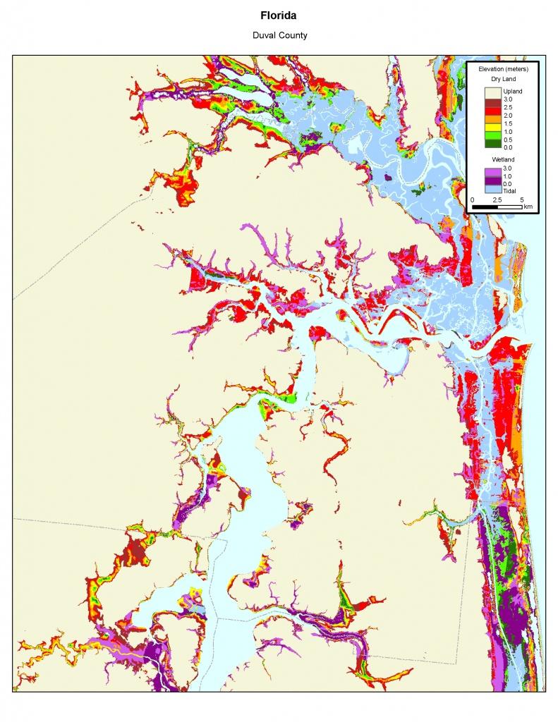 More Sea Level Rise Maps Of Florida's Atlantic Coast - Nassau County Florida Flood Zone Map