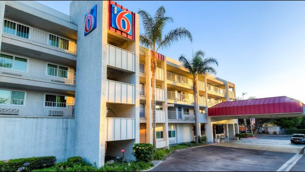 Motel 6 Anaheim Maingate Hotel In Anaheim Ca ($89+)   Motel6 - Motel 6 Locations California Map
