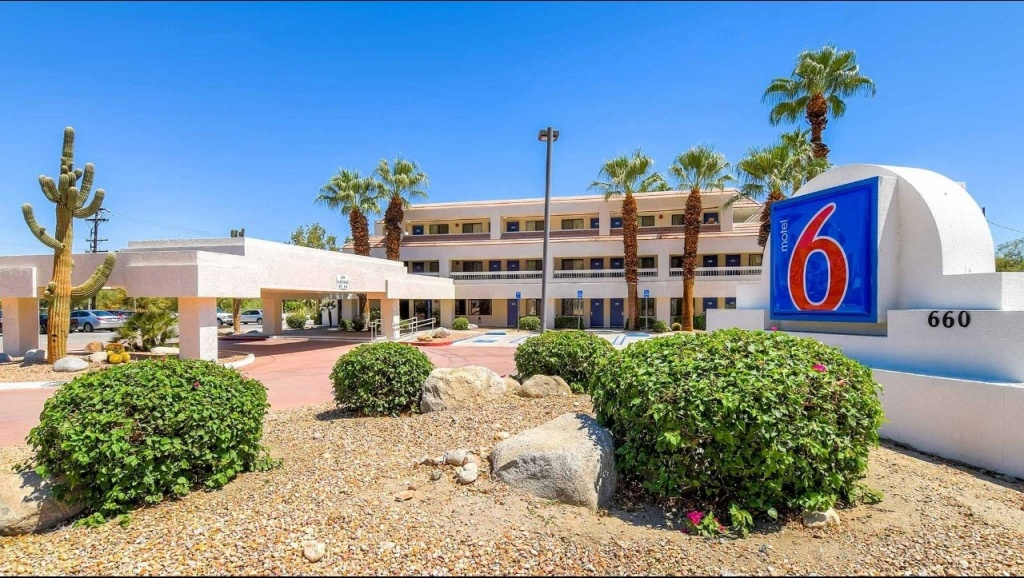 Motel 6 Palm Springs Downtown Hotel In Palm Springs Ca ($55+ - Motel 6 California Map