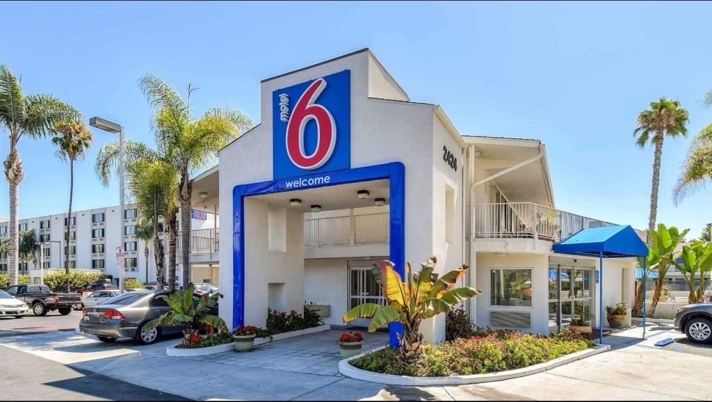 Motel 6 San Diego Hotel Circle - Mission Valley Hotel In San Diego - Motel 6 Locations California Map