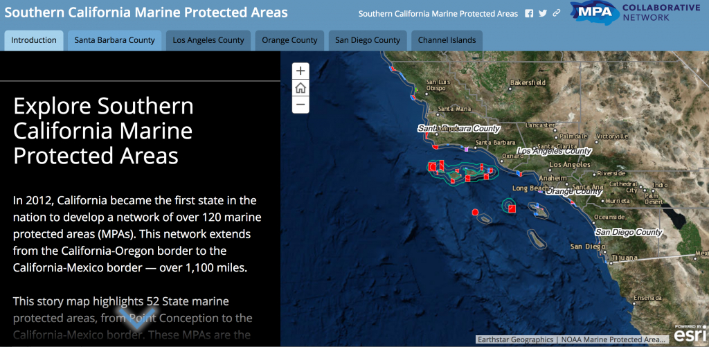 Mpa Online Interactive Map   Mpa Collaborative Network - California Marine Protected Areas Map