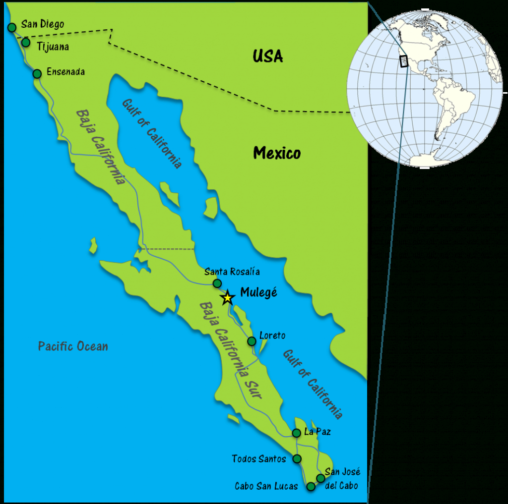 Mulege Mexico - Baja Sur's Best Kept Secret - Travel Tales Of Life - La Paz Baja California Map
