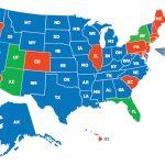 Multi State Ccw Class   Florida Non Resident Ccw Reciprocity Map