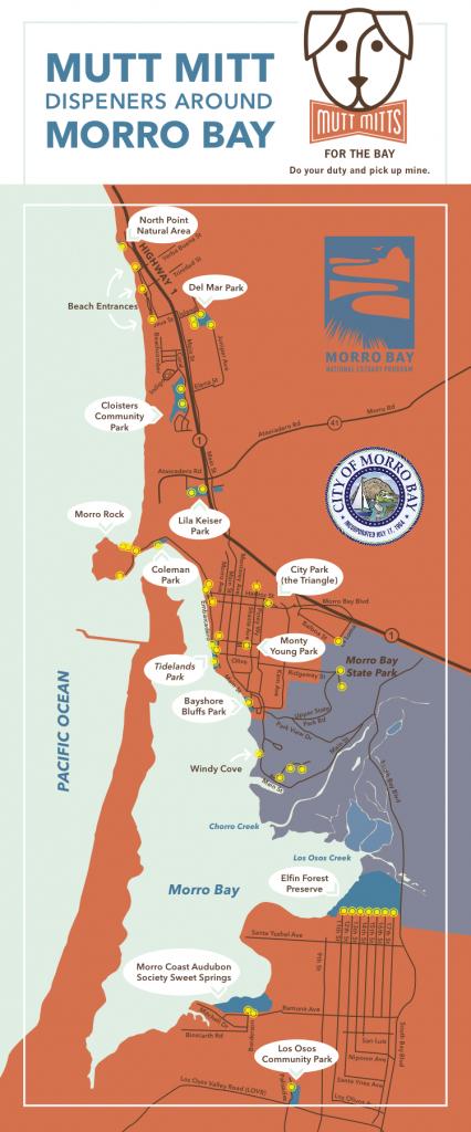 Mutt Mitt Map (Web) - Morro Bay National Estuary Program - Morro Bay California Map