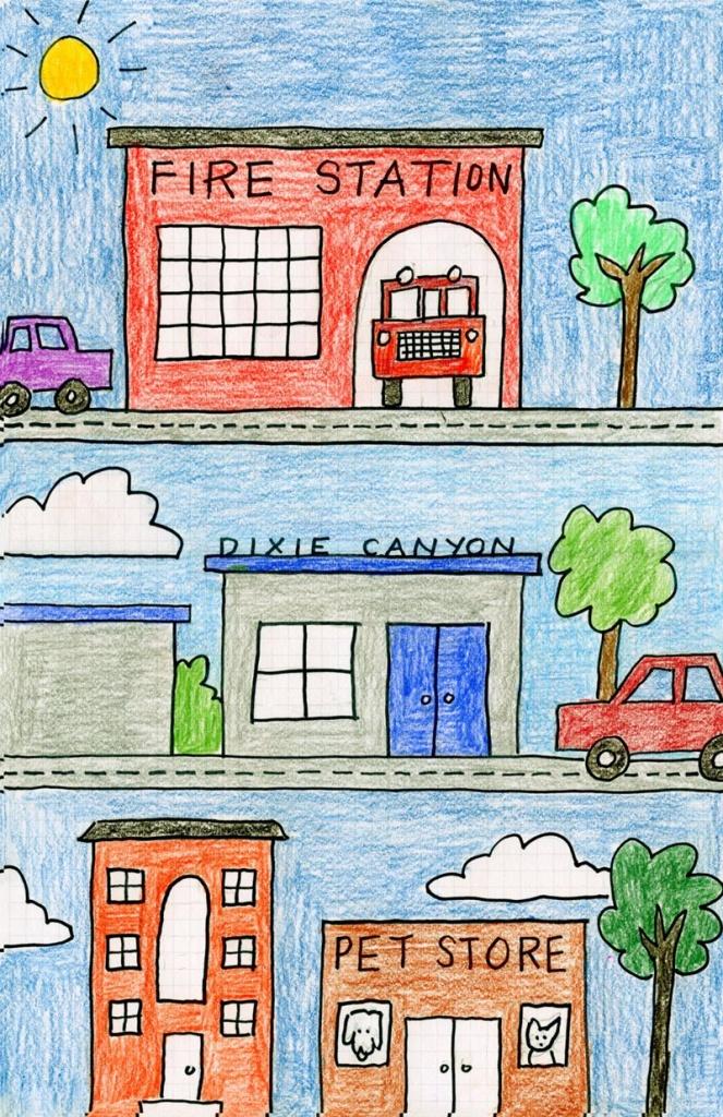 My Neighborhood Drawing. Art Projects For Kids | Kindergartenklub - Community Map For Kids Printable