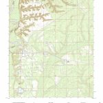 Mytopo Bristol, Florida Usgs Quad Topo Map   Bristol Florida Map