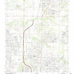 Mytopo Frisco, Texas Usgs Quad Topo Map   Frisco Texas Map