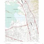 Mytopo Milpitas, California Usgs Quad Topo Map   Milpitas California Map