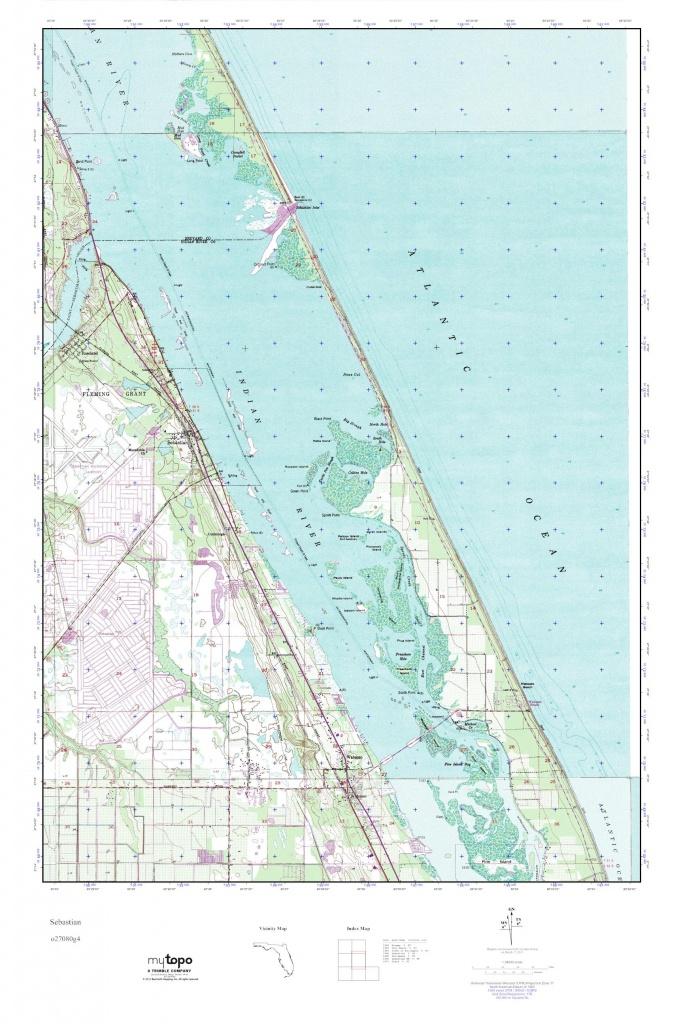 Mytopo Sebastian, Florida Usgs Quad Topo Map - Sebastian Florida Map