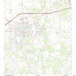 Mytopo Seguin, Texas Usgs Quad Topo Map   Seguin Texas Map
