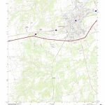 Mytopo Sweetwater, Texas Usgs Quad Topo Map   Sweetwater Texas Map