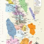 Napa Valley Wineries Map | An Adventure, A Journey, A Destination   California Wine Country Map Napa