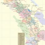 Napa Valley Wineries | Wine Tastings, Tours & Winery Map   Napa California Map