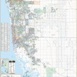 Naples & Collier Co, Fl Wall Map – Kappa Map Group   Map Of Bonita Springs And Naples Florida