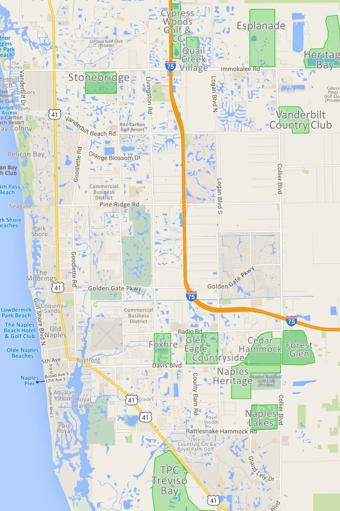 Naples Fl Map | Ageorgio - Map Of Naples Florida Neighborhoods