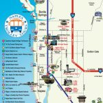 Naples Trolley   Route Map | Fav Places In My Home State..florida   Naples Florida Attractions Map