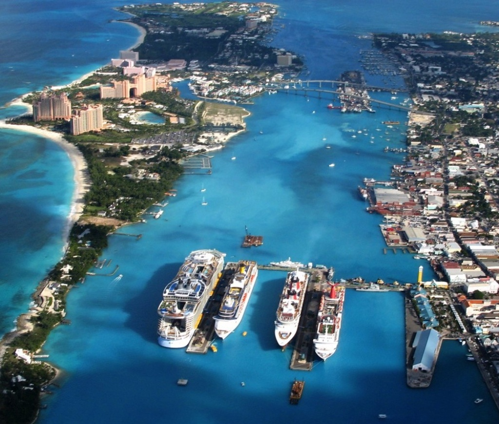 Nassau (New Providence Island, Bahamas) Cruise Port Schedule - Map Of Carnival Cruise Ports In Florida