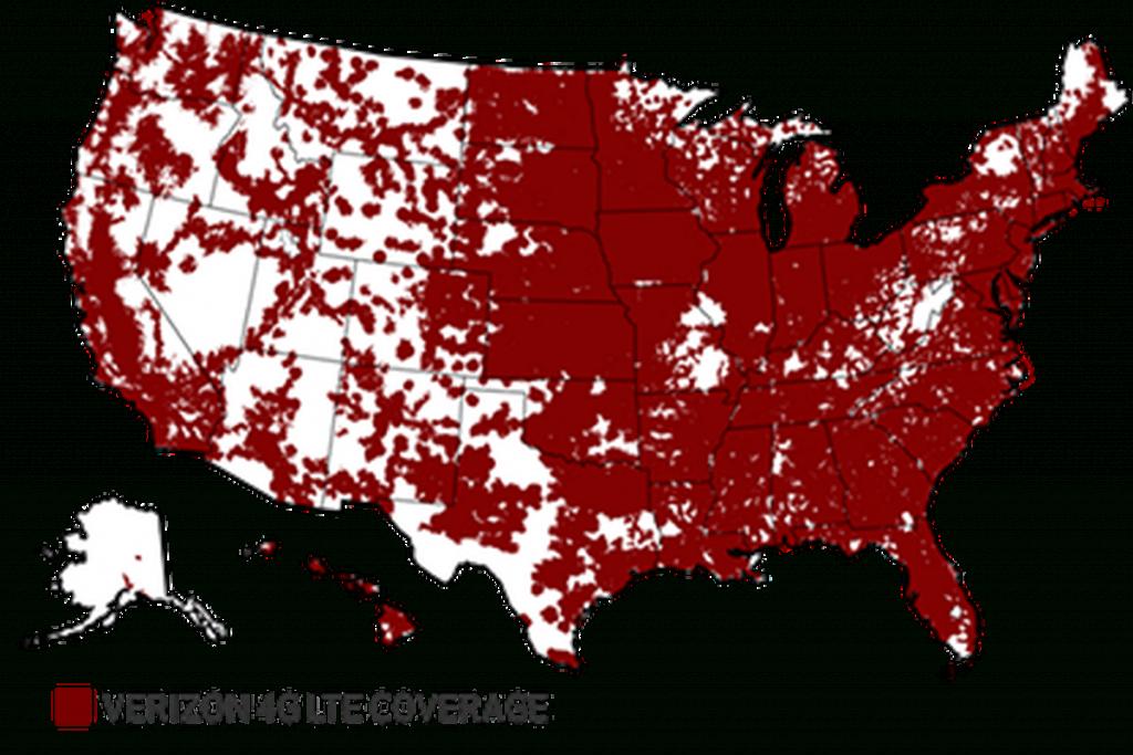 "National Advertising Division Calls On Verizon To Discontinue ""more - Verizon Map Coverage Texas"