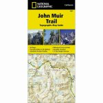 National Geographic Trails Illustrated John Muir Trail Ca Topo Map   National Geographic Topo Maps California