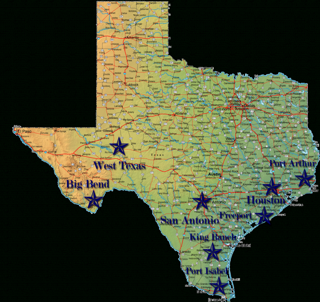 National Parks Texas Map | Business Ideas 2013 - National Parks In Texas Map