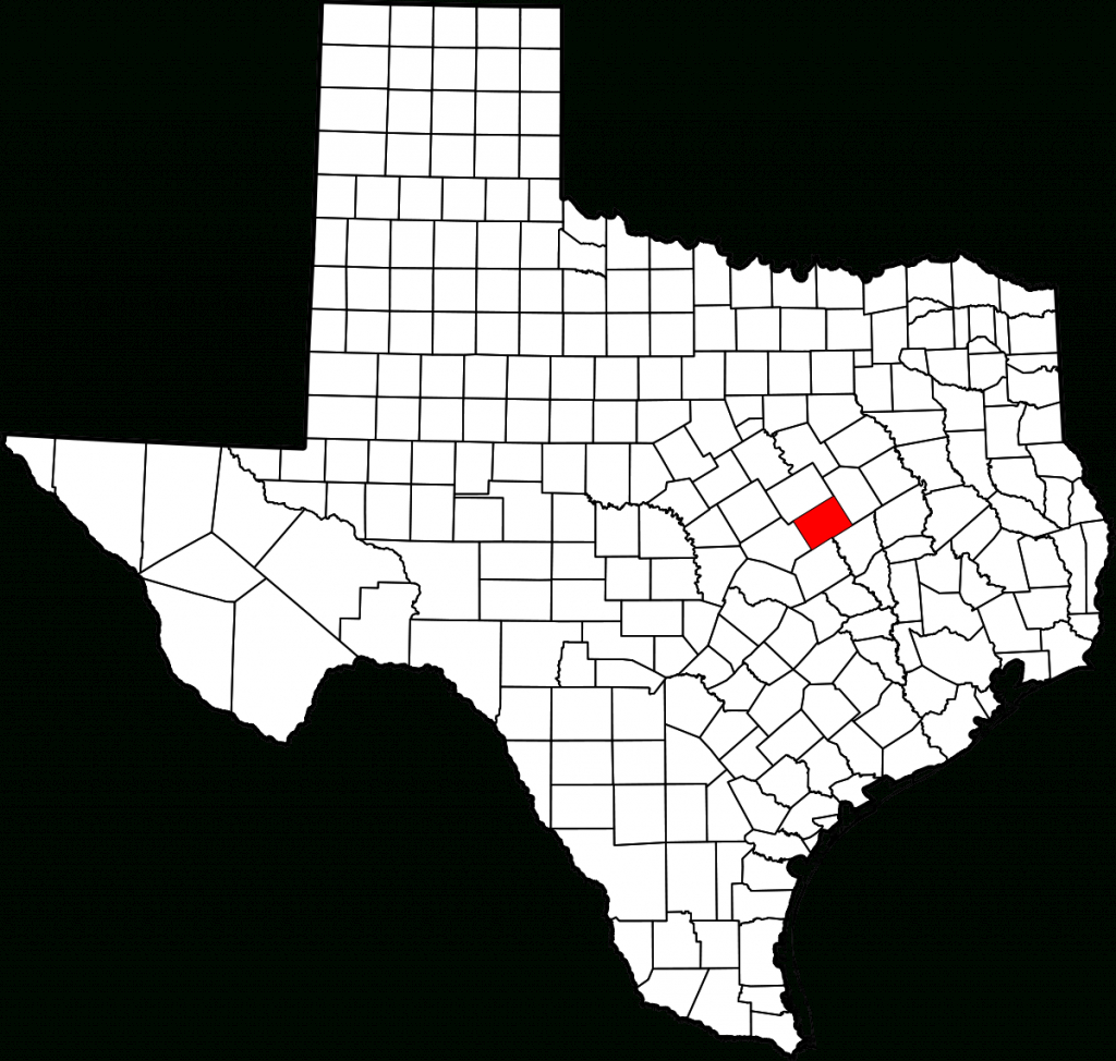 National Register Of Historic Places Listings In Falls County, Texas - Falls County Texas Map