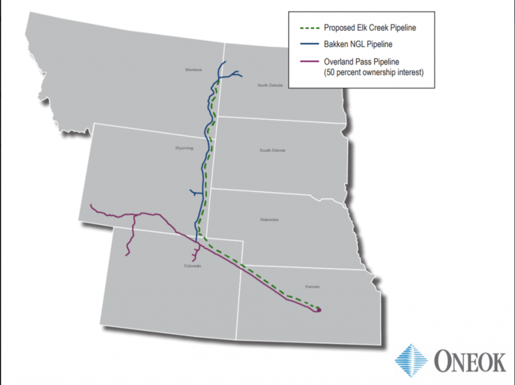 Natural Gas Pipeline Construction Project In The Works - Oneok Pipeline Map Texas