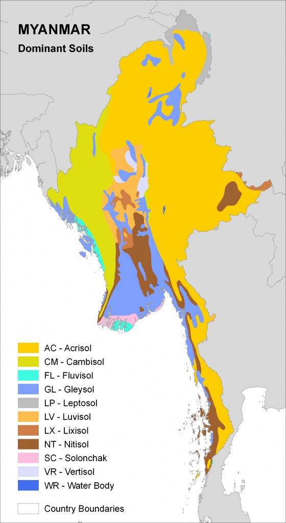 Natural Resources Management And Environment Department - Myanmar - Florida Soil Types Map