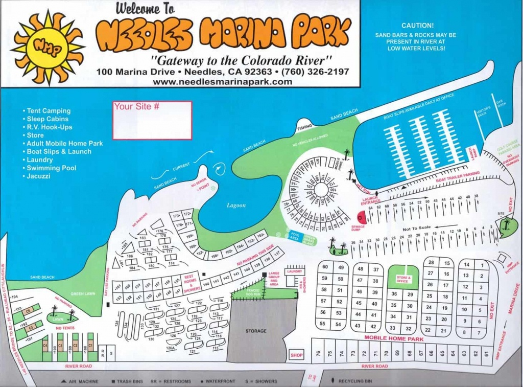 Needles Marina Rv Park - Sites - Malia's Miles - Rancho California Rv Resort Site Map