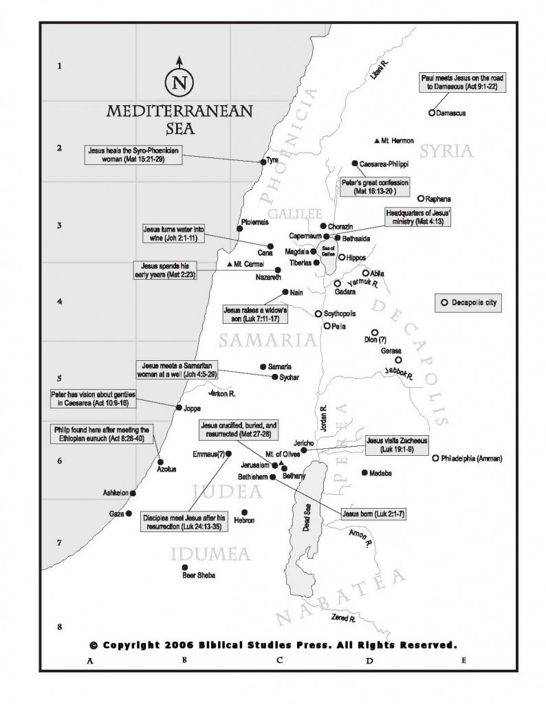 Net Bible Maps | Bible - Printable Bible Maps