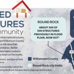 New Flood Insurance Map To Affect Hundreds | Community Impact Newspaper   Round Rock Texas Flood Map
