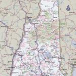 New Hampshire Road Map   New Hampshire State Map Printable